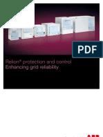 1MRK590019-SEN a en Relion Protection and Control - Enhancing Grid Reliability