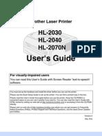 Broher Laser Hl2040
