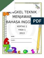 Bengkel Teknik Menjawab Paper 2 English