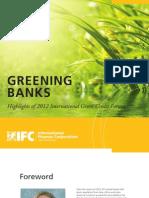 Greening Banks