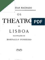Os Theatros de Lisboa