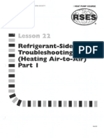 Heat Pump 22 Refrigerant-side Troubleshooting Heat Air-To-Air Part 1