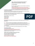 Exercícios Contabilidade Instituições Financeiras- Módulo 4.1