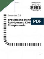 Heat Pump 24 Troubleshooting Refrigerant Circuit Components