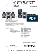 Sony Hcd-gtx66 Gtx77