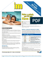 Toronto FUN Guide Spring / Summer 2009 (Swimming, Toronto-East York District)