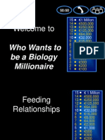 who wants to be a biology millionaire