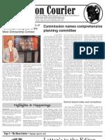 Bison Courier, April 25, 2013