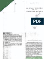 Gerschnkron- El Atraso Economico...