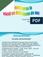 41511730 Comunicarea La Elevii Cu Deficiente de Auz