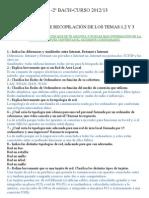 Cuestionario Recopilatorio Temas 1,2 y 3