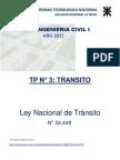 lLey Nacional de Tránsito 24.449