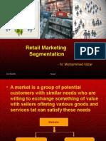 Retail Marketing Segmentation