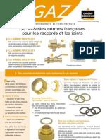 Info Chuchu 2 - Nouvelles Normes Raccords Et Joints