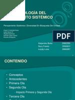 Exposicion Geomorfologia Del Pensamiento Sistemico