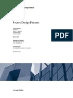 Secure Design Patterns