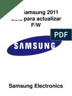 2011 PDP Instrucciones Actualizacion de Firmware X5