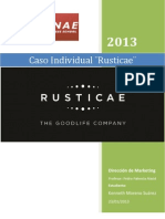Caso Rusticae - Direccion de Marketing
