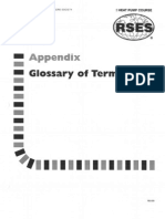 Heat Pump 33 Appendix Glossary of Terms