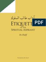 Etiquette Ibnkhafif