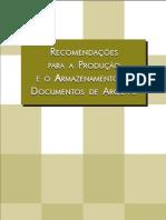 Acondicionamento e Armazenamento de Documentos de Arquivo