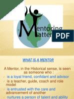 Mentor Mentoring