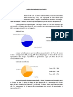Análise dos Dados do Questionário