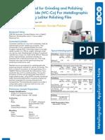 Leco Grinding and Polishing Catalog