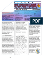 FUMC May 2013 Newsletter