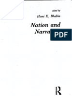 DissemiNation - Nation and Narration - Homi K. Bhabha