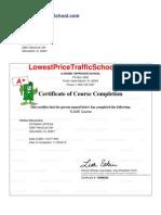 Certificate 1378267
