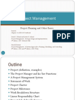 14 Project Planning and Other Basics