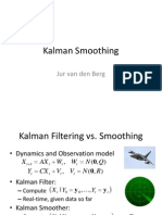 Kalman Smoothing