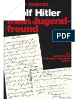 August Kubizek - Adolf Hitler - Mein Jugendfreund