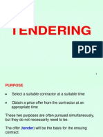Tendering