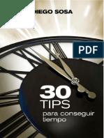 Diego Sosa - 30 TIPS Para Conseguir Tiempo