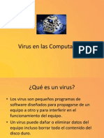 Virus en Las Computadoras