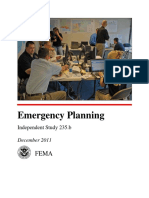 IS235B Emergency Planning