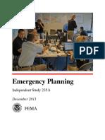 IS235B Emergency Planning