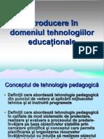 tehnologii educaționale
