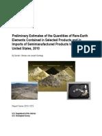 USGS Report Rare Earths