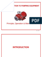 Introduction Pumps