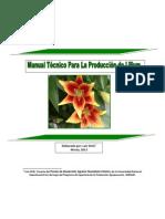 Manual para la producción de Lilium spp