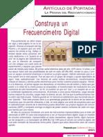 Frecuencimetro Digital