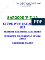 Exemple Sap2000 Complet