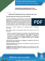 Actividad de Aprendizaje unidad 3 Requisitos e Interpretación de la Norma ISO 90012008 (1)