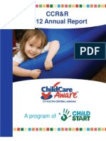 Child Start's CCR&R Annual Report 2012