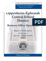 Audit of Oppenheim-Ephratah School District