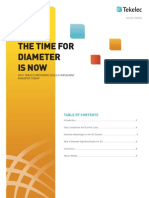 The Time for Diameter is Now