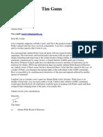 Tim Gunn's letter to Atlanta Pride
